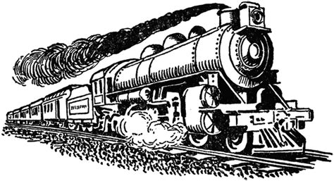 steam train clipart etc