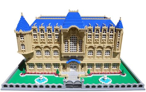 Cool Garages Pictures lego mansion large brick built mansion created for the