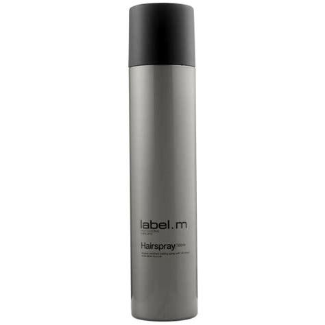 blacklabel hair products label m hairspray 300ml free shipping lookfantastic