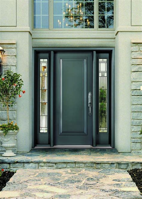 Glass For Front Doors Front Doors Cozy Steel Front Doors With Glass Steel Front Doors With Glass Uk Commercial