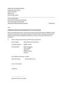 contoh surat permohonan kenderaan surat kebenaran menggunakan kenderaan