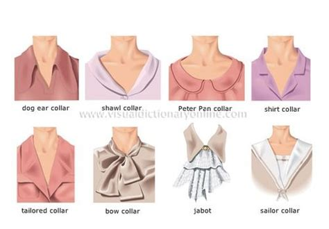 fashion collar list of fashion terms and styles of collars of womens garments miss