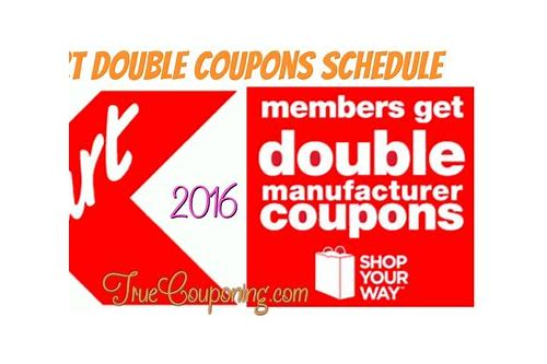 do coupons double at walmart