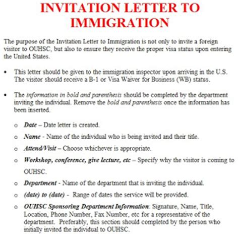 Invitation Letter Sle In Japan Invitation Letter Template Immigration Invitation Letter