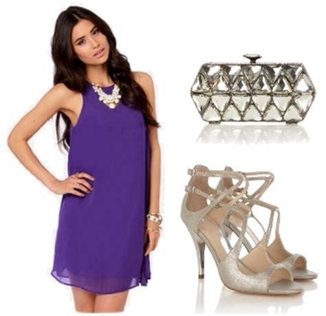 what color shoes to wear with purple dress how to wear a purple dress