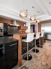 Kitchen With Bar Design by Kitchen Bar Houzz