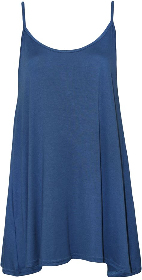 plus size swing tops new plus size womens plain strappy sleeveless ladies swing