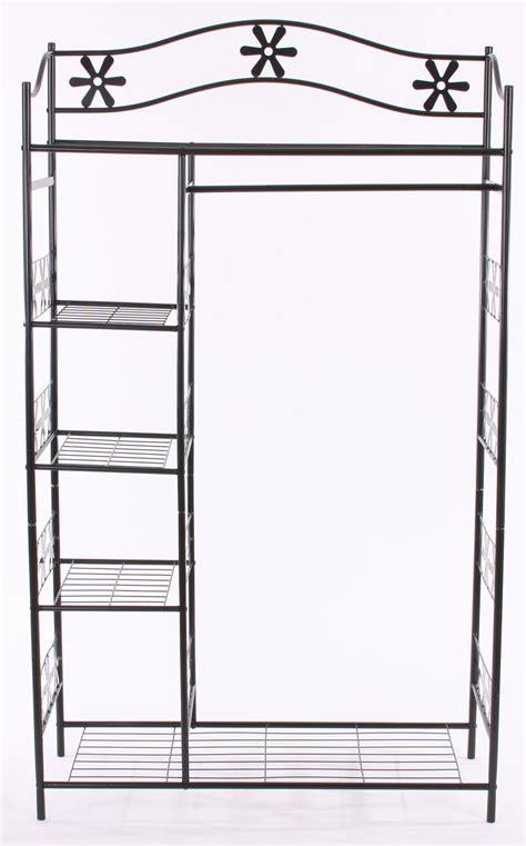 armario metal armario de ropa en metal ginebra perchero estante de metal