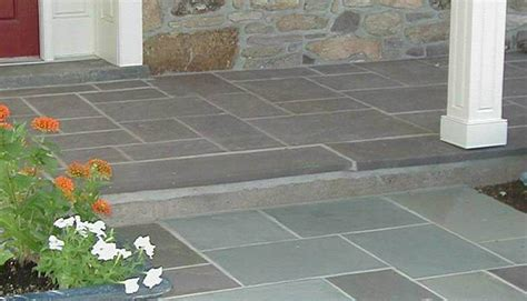 Flagstone Entryway Dwyer Marble And Stone Supply Blue Stone Slabs