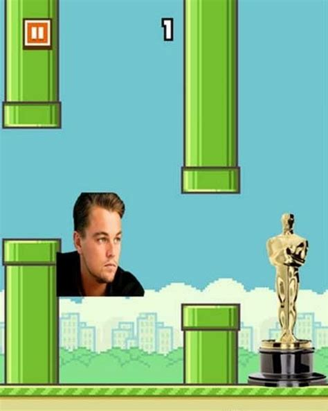 Flappy Bird Meme - flappy bird 03 leonardo dicaprio oscar dump a day