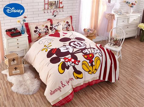 mickey and minnie bedding set mickey and minnie mouse comforter bedding sets singletwin