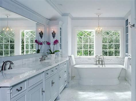 white bathroom decorating ideas bloombety white master bathroom decorating ideas master