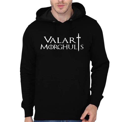 Hoodie Valar Morgulis C3 valar morghulis black hoodie swag shirts