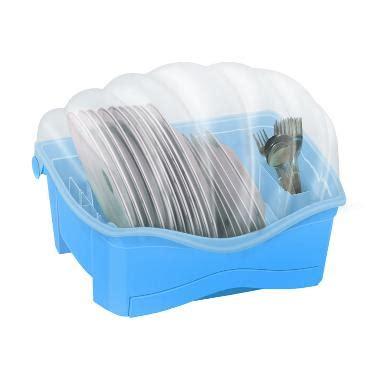 Rak Piring Shella Rovega jual rovega type shella biru rak piring harga kualitas terjamin blibli