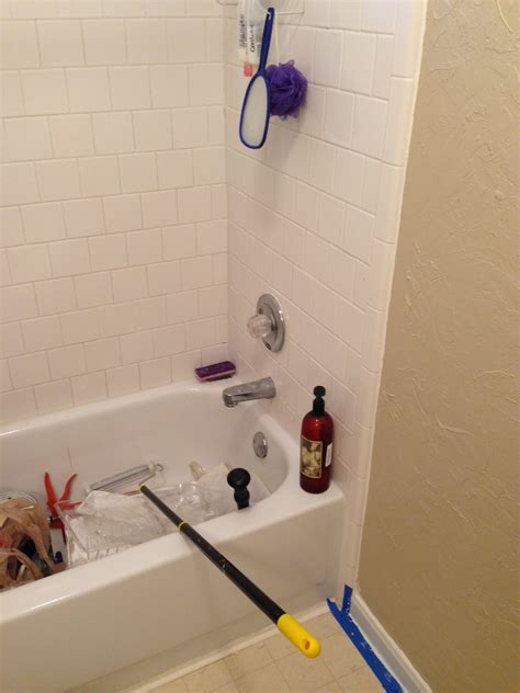 imgur bathroom home depot shower pan paint how to convert tub to walk