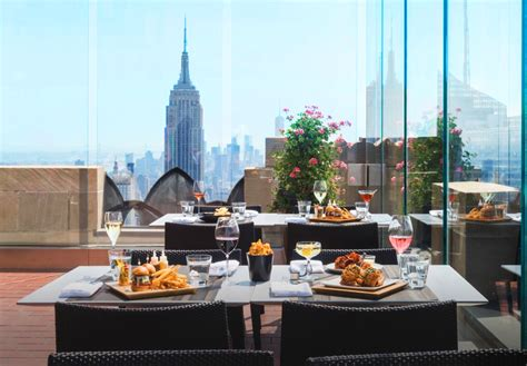 Bar At Top Of The Rock by Rainbow Room Iconic Nyc Landmark Dining Entertainment