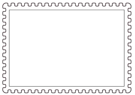 Best Photos Of Travel Postage St Templates Blank Postage St Template Tax St Clip Art Postage St Design Template
