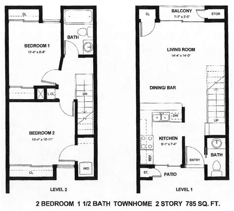 2 Story Apartment Plans by 2 Story Apartment Design Vernie S Home Building Ideas