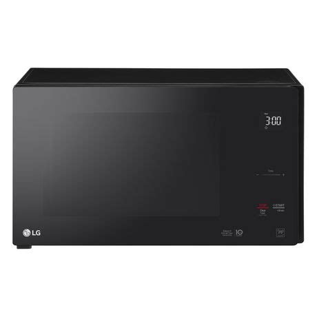 lg cabinet microwave lg 1 5 cu ft counter top microwave oven with neochef smart inverter walmart canada