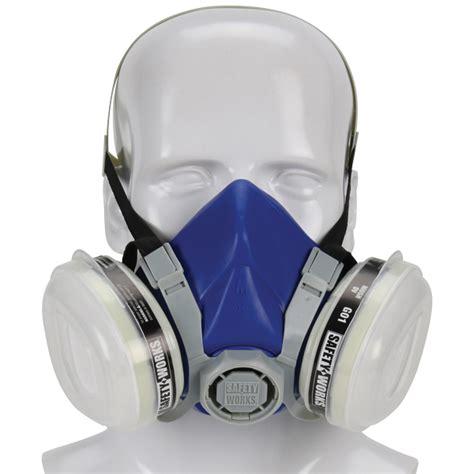 Masker Kimia paint pesticide half mask respirator safety works