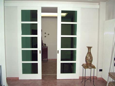 porte interne vetro e legno porte scorrevoli in legno e vetro per interni fi51