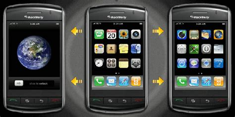 blackberry edge themes blackberry theme roundup for april 6 2011 25 copies of