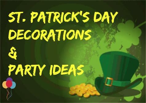 st s day items best gift idea st s day decorations get ready for the