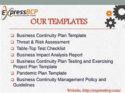 itil disaster recovery plan template express bcp business continuity plan template