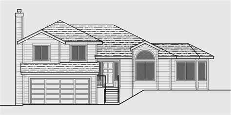 split plan house house plans split level