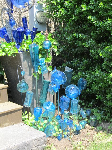 bottle trees and the whimsical of garden glass a haverhill bradford garden featured in new book on