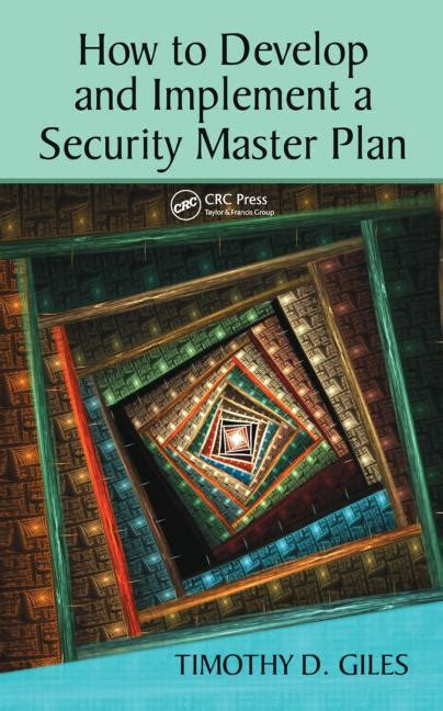 implementing the machine on activecaign masterclass books how to develop and implement a security master plan crc
