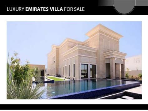 emirates sale luxury emirates villa for sale through ezheights