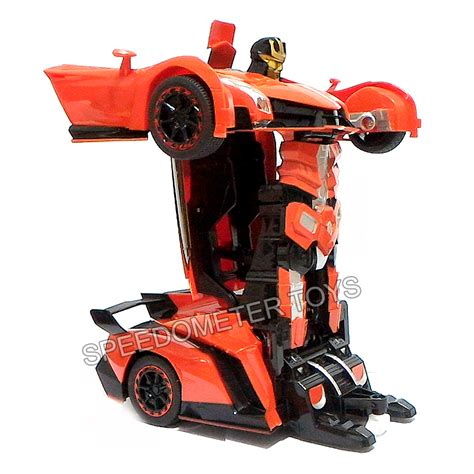 Mainan Mobil Robot by Jual Rc Transfomers Frekuensi 2 4g Mainan Anak Mobil Robot