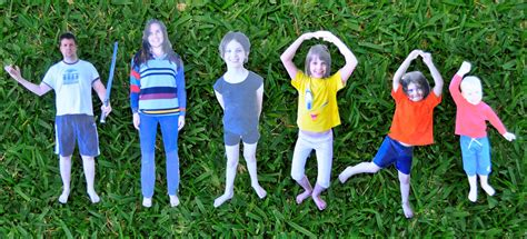 How To Make A 3d Paper Person - paper dolls photo dolls be a