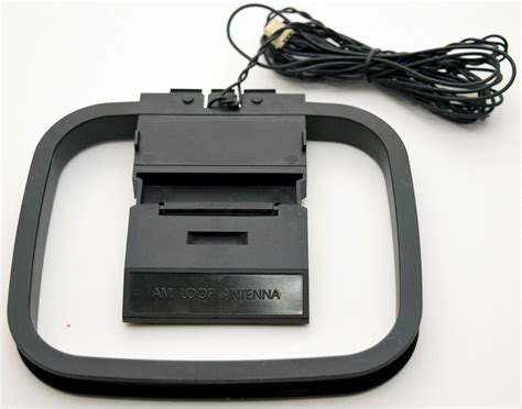 hifi amfm loop  pin mini connector antenna sony