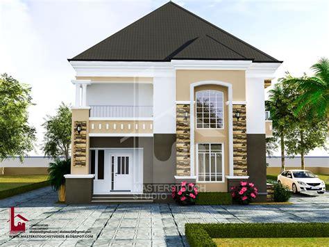 4 Bedroom Duplex Designs Mr Gabriel 4 Bedroom Duplex Residential Homes And Designs