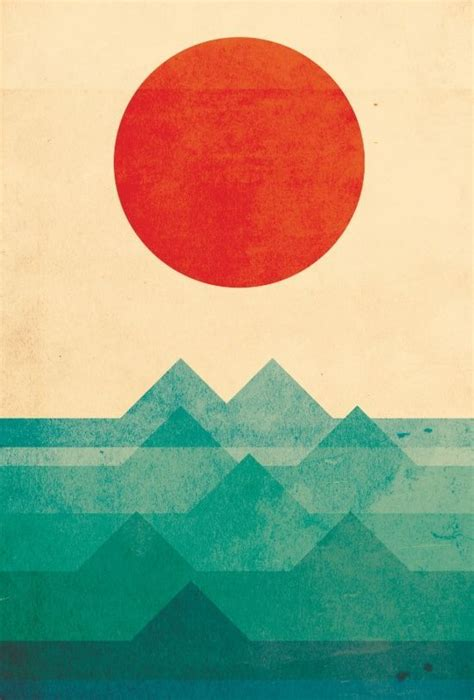 quot geometric three blue suns and sea waves quot new geometric 25 best ideas about minimalist painting on pinterest