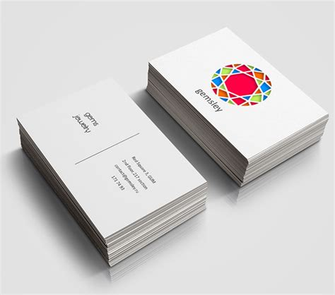Jewelry Store Business Card Designs new branding visual identity and logo designs design