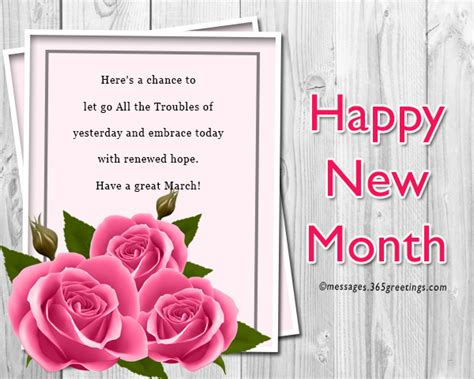 new month messages and wishes 365greetings com