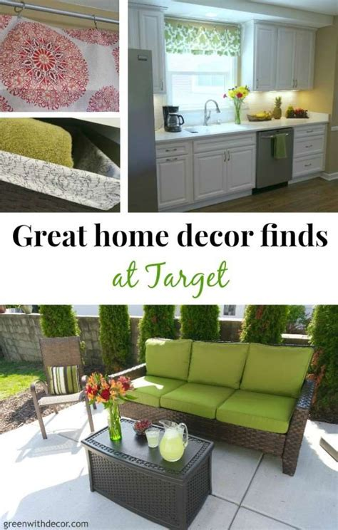 green with decor great home decor finds at target