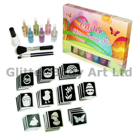 tattoo kit sale uk easter glitter tattoo kit temporary tattoo store