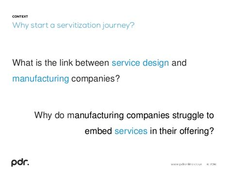 design for manufacturing poli service implementation a framework to assess readiness of