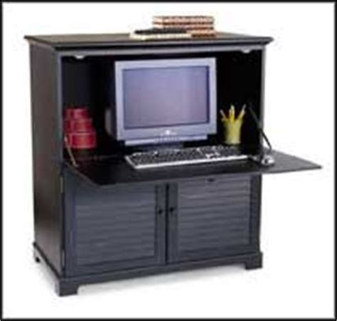 black armoire desk black computer desk for stylish look