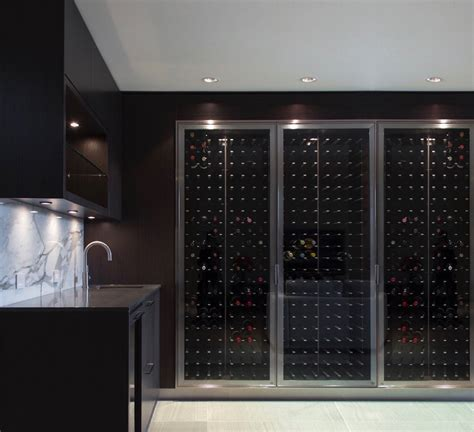 Glass Enclosed Wine Cellars ? STACT Wine Racks