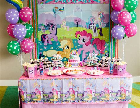 Barbie Wall Stickers my little pony birthday quot pony tea party quot catch my party
