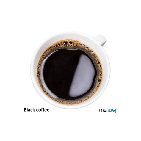Black Coffee Aromatic meiwei aroma black coffee 10 ml
