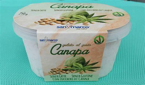 canapé quizz gelato al gusto canapa san marco vegan ricette