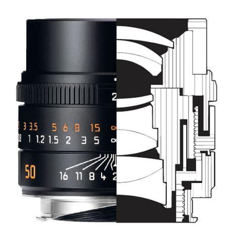 corrected leica apo summicron 50mm f/2.0 asph lens