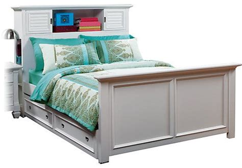 rooms to go bookcases shop for a belmar white 3 pc full bookcase bed at rooms to