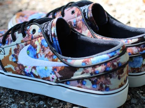 Nike Airmax90 Motif Flower nike stefan janoski quot blue floral quot release date